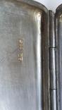 Портсигар 84 пробы ,чернь, фото №7