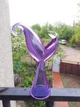 Статуетка птицы Фиолетового цвета, фото №2