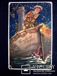 Старовинна листівка - З Новим роком 4, фото №2