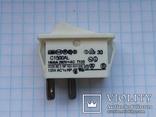 Переключатель клавишный 16A 2 pin C1500AL Arcolectric 2 шт, фото №4