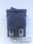 Переключатель клавишный 8A 4 pin KRB 2104 1 шт, фото №3