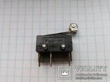 Переключатель микро 5A 250 Vac Pm2-111 ножки серебро 13 шт, фото №2