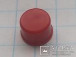 Колпачок на кнопку микро 7х3,1 красный 155 шт, фото №2