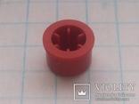 Колпачок на кнопку микро 7х3,1 красный 155 шт, фото №4