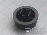 Колпачок на кнопку микро 12х4 черный 190 шт, фото №3