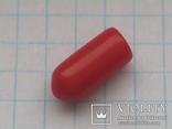 Колпачок на тумблер силикон красный 35 шт, фото №5