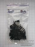 Разъем сигнальный 2,54 2 pin джампер h6 позолота 40 шт, фото №5