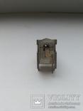 Разъем BNC гнездо угловое на плату массивный 10 шт, фото №6