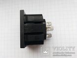 Штекер сетевой 15A 250V 3 pin розетка монтажный 75 шт, фото №5