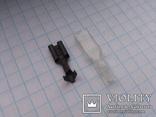 Изолятор на ножевую клемму 6,4 мм силикон 130 шт, фото №3