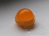 Светодиод 20 мм DLC-6YD Kingbright 12 pin желтый 1 шт, фото №3