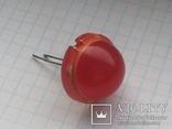 Светодиод 20 мм DLC2-6ID Kingbright 2 pin красный 1 шт, фото №2