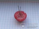 Светодиод 20 мм DLC2-6ID Kingbright 2 pin красный 1 шт, фото №3