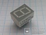 Индикатор 7-сегментный LTS 4801G зеленый 15 шт, фото №2
