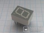 Индикатор 7-сегментный LTS 4801G зеленый 15 шт, фото №3