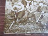 Группа рабочих на стройке, фото №6