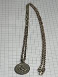 925 серебро Цепочка с кулоном в виде Скорпиона, фото №6