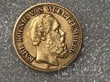 10 марок Карл Вюртембург Германия 1874, фото №5