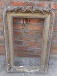 Рама зеркала середина 19 века, фото №3