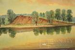 Картина маслом Руднев Н. 1960 год, фото №2
