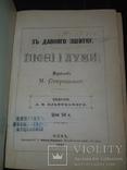 1881 Старицький - Пiснi i думи в 2 частинах, фото №2