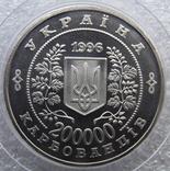 200000 карбованців Чорнобиль 1996 рік + 10 сертифікатів фото 4