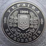 200000 карбованців Чорнобиль 1996 рік + 10 сертифікатів фото 5