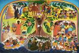 Картина 1982 Гаити Жак Шери Art Print. 2 шт, фото №2