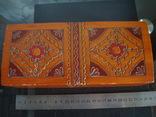 Деревянная шкатулка СССР, фото №3