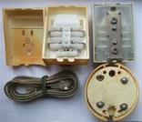 Телефонный блокиратор СССР и пара телефонных  розеток старого образца, фото №3