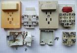 Телефонный блокиратор СССР и пара телефонных  розеток старого образца, фото №5