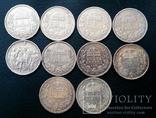 Комплект 1 крони по роках. Австрійський і угорський типи. 30 монет без повторів, фото №9