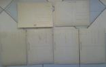Зверушки, Рождество, Поздравительные-объёмная / стерео открытка, 5 шт.,чистые,Imco,Toppan, фото №3