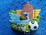 Сувенирный магнит: Kyiv  65Х5,5 см керамика, фото №2
