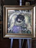 """""""Запах цветов"""" х/д/масло. 2002г. А.Г. Уваров.(1044-2015), фото №2"""
