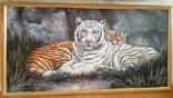 Картина Тигры 103*55 см
