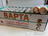 Батарейки 40шт Alkaline 2023г лот 8