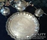 Индийский чайный сервиз  .20 век., фото №2