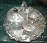 Индийский чайный сервиз  .20 век., фото №4