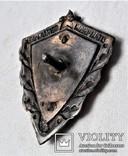 Знак Отличный пограничник МВД, копия, сборный на заклепках, фото №7