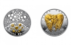 The National Bank issued a coin dedicated to digging potatoes