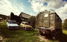 Раритетная коллекция автомобилей «Москвич» тульского коллекционера