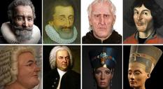 Нефертити, Бах и Коперник: ученые воссоздали лица известных личностей прошлых лет