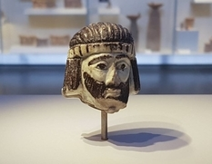 In Israel, found a fragment of the sculpture of an unknown king