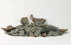 11-килограммовый клад серебряных монет