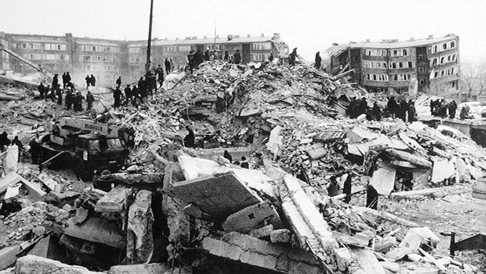 Землетрясение разрушило город за 30 секунд