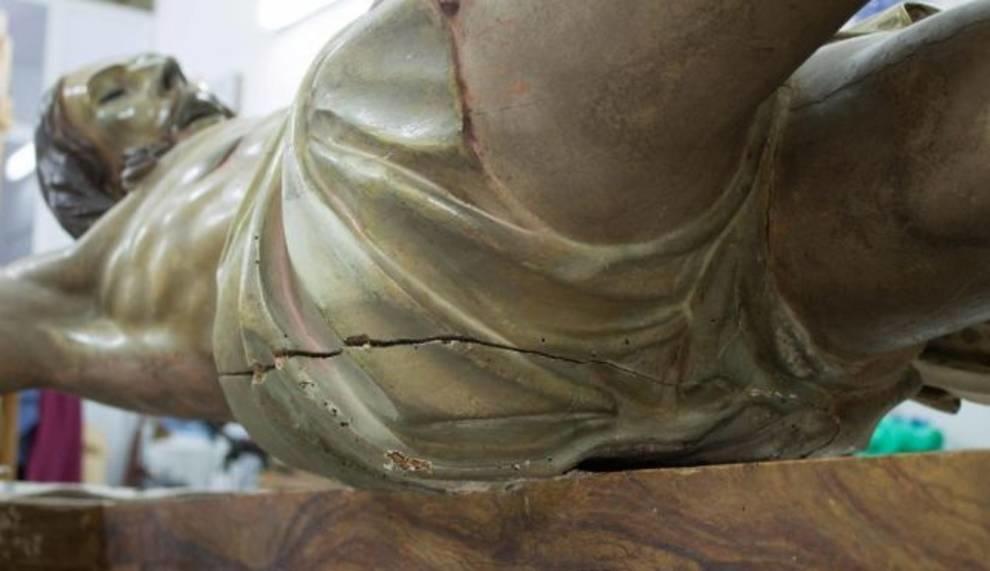 Старинная статуя Иисуса Христа и ее секрет