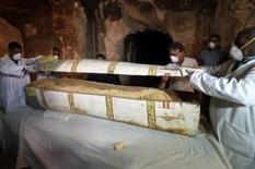 Необычное захоронение было найдено на юге Египта