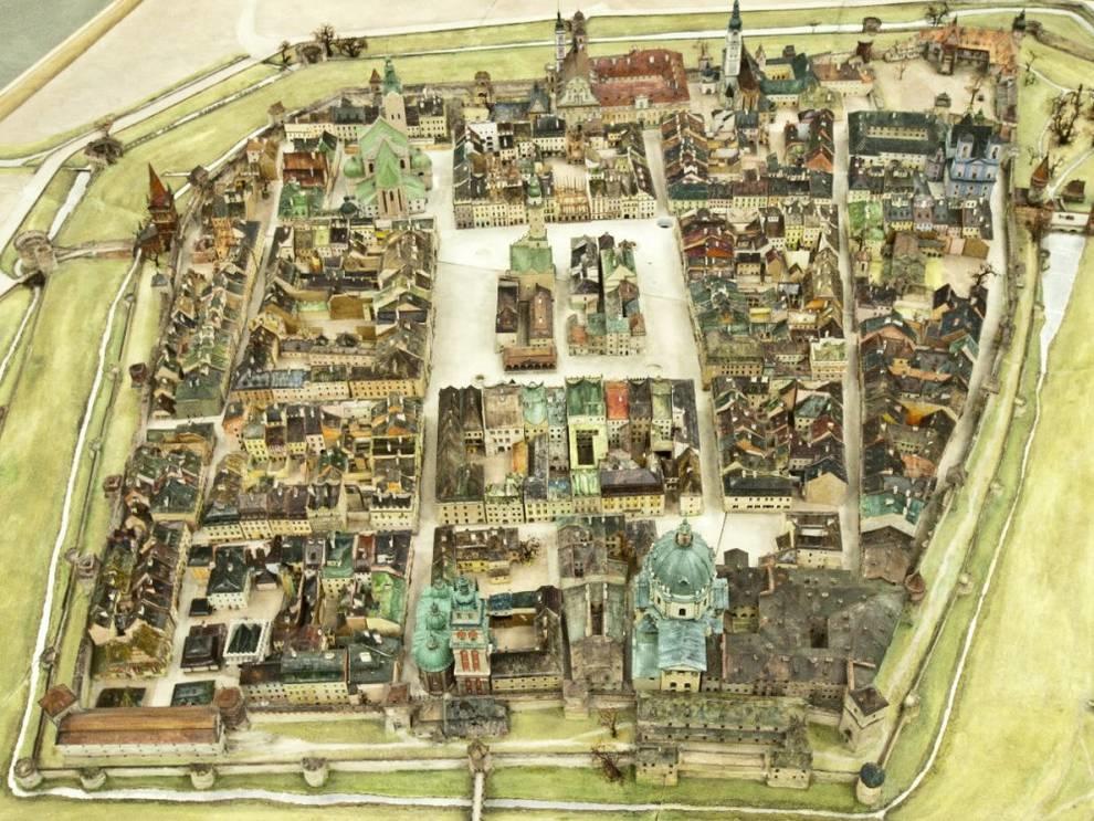 Львов 1772 года в реконструкции инженера Януша Витвицкого