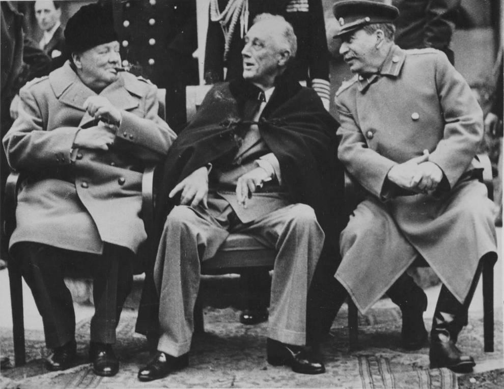 Крымскую конференцию посвятили установлению мирового порядка после войны